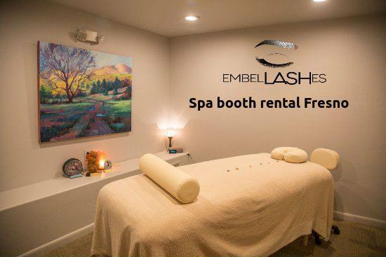 spa booth rental Fresno